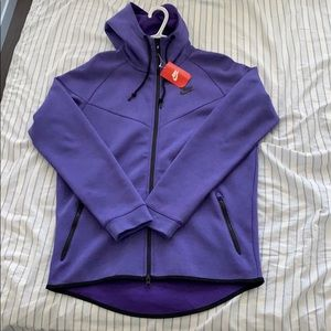 🆕 Nike Tech Fleece Windrunner Lavender men sz Lg